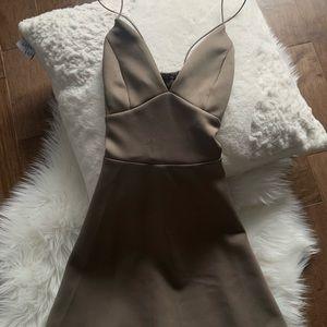 Gorgeous Grey/Brown dress